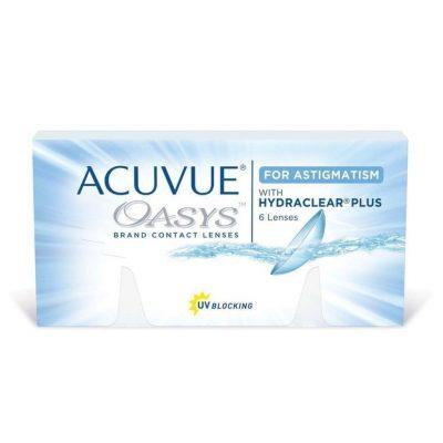 עדשות דו-שבועיות |Acuvue Oasys for Astigmatism - 6 Pack-3037