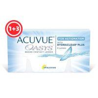 עדשות דו-שבועיות |Acuvue Oasys for Astigmatism - 6 Pack-0