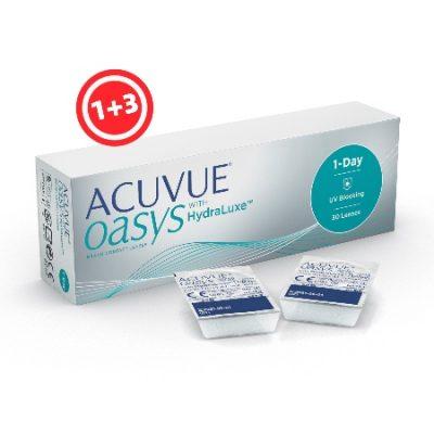 עדשות מגע יומיות   Acuvue Oasys One Day 30- Contact Lenses  -0