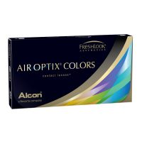 זוג עדשות מגע צבעוניות חודשיות | Air Optix Colors 2pck| Alcon-0