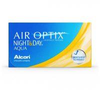 עדשות חודשיות |Air Optix Night & Day Aqua 6 Pack |Alcon -0
