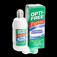 תמיסה רב-תכליתית לעדשות מגע רכות | Opti-Free Express | Alcon-0
