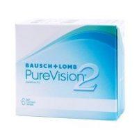 עדשות מגע יומיות | Purevision 2 for Astigmatism 6pck |-0