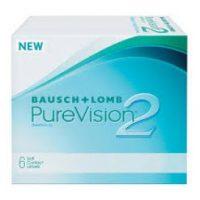 עדשות מגע יומיות   Purevision 2 6pck  Bausch & Lomb-0