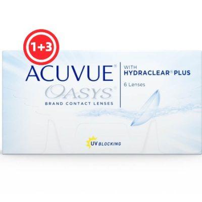 עדשות דו-שבועיות  Acuvue Oasys - 6 Pack-0