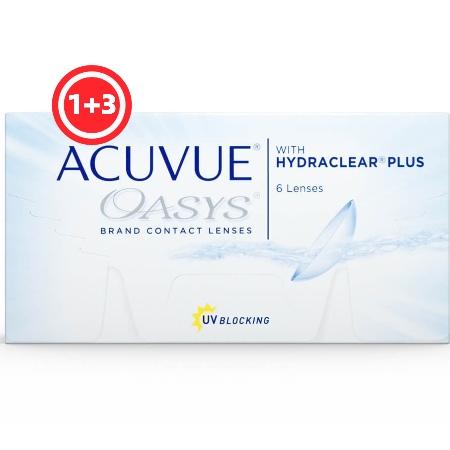 עדשות דו-שבועיות |Acuvue Oasys - 6 Pack-0