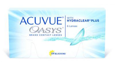 עדשות דו-שבועיות  Acuvue Oasys - 6 Pack-3846